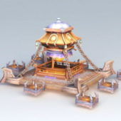 Fantastic Altar Tower Game Building