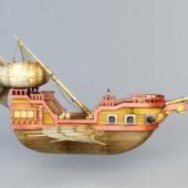 Sci-fi Flying Boat