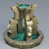 Fantasy Stone Fountain