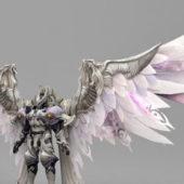 Fantasy Character Knight Armor Angel