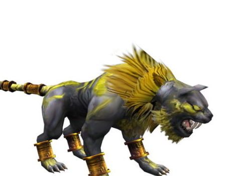 Fantasy Tiger Beast Game Animal