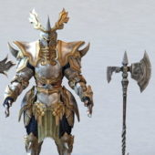 Fantasy Weapons Design With Armor