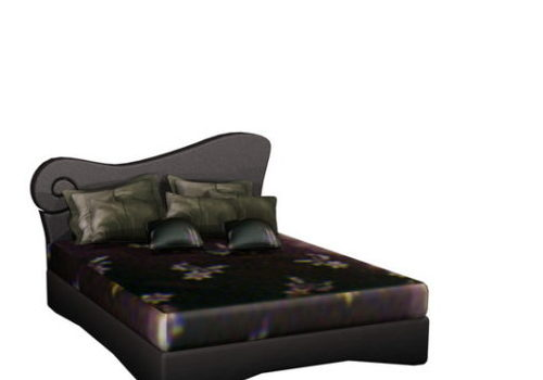 Fashion Double Bed Furniture
