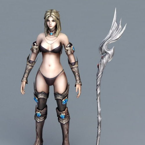 Character Female Battle Mage V1