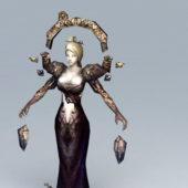 Female Character Dark Sorceress