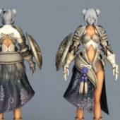 Game Character Female Armor Demon