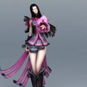 Fashionista Female Samurai