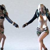 Character Female Sorceress
