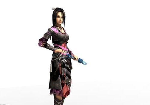 Character Female Swordsman