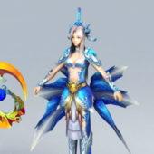 Female Character Warrior Goddess