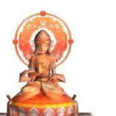 South Asian Buddha Statue