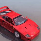 Ferrari F40 2-door Coupe Racing Car