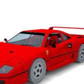 Ferrari F40 Car