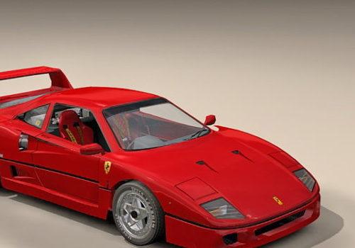 Ferrari F40 Sport Racing Car