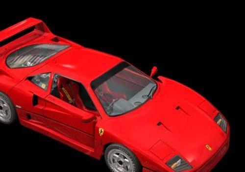 Ferrari F40 Two-door