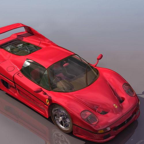 Ferrari F50 Sport Racing Car