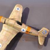 Ww2 Fiat G.50 Freccia Fighter Aircraft