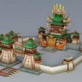 Fighting Gaming Arena Buildings