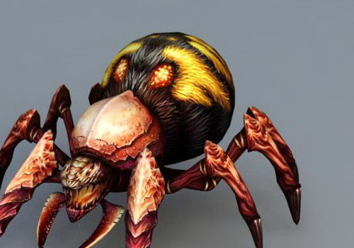 Fire Spider Game Animal