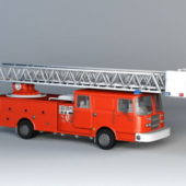 Red Fire Truck Vehicle