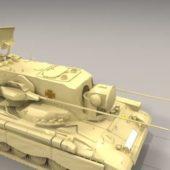 Flakpanzer Anti Aircraft Vehicle