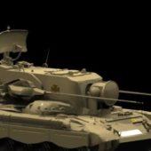 Military Flakpanzer Gepard Tank