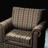 Home Furniture Floral Fabric Sofa Chair