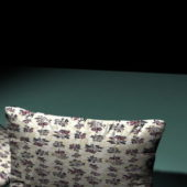 Floral Pattern Sofa Pillows