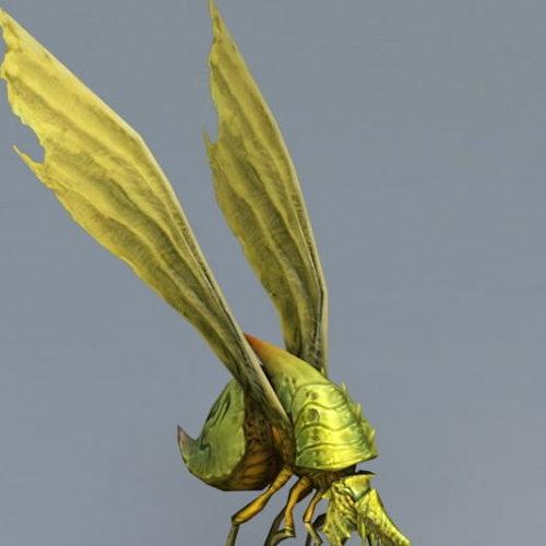 Flying Beetle Monster Animal