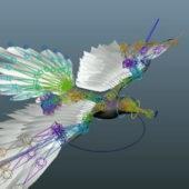 Flying Bird Animal Rigged