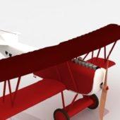 Fokker D7 Fighter Vintage Aircraft