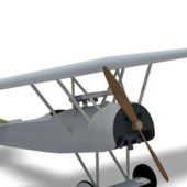 Aircraft Fokker D7 Fighter Plane