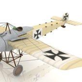 German Fokker Eindecker Fighter