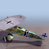 Fokker V7 German Ww2 Fighter