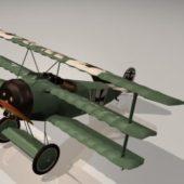 Fokker Triplane Vintage Aircraft
