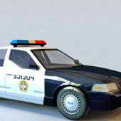Ford Crown Police Car