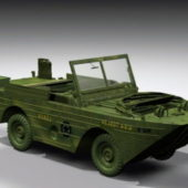 Army Amphibious Jeep Vehicle
