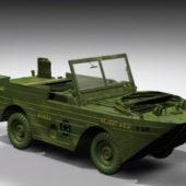 Army Amphibious Jeep Vehicle