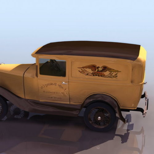 Ford A Coupe Car