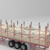 Vehicle Forestry Trailer Truck