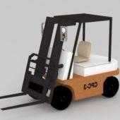Forklift Truck Vehicle