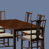 Dining Table Chair Furniture Set