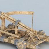 Military Four-wheeled Carroballista