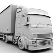 Vehicle Freightliner Box Truck