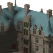French Renaissance Castle