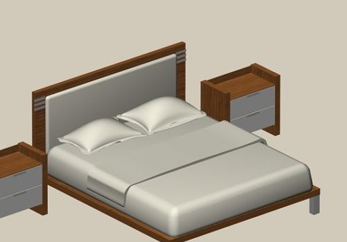 Full Bed Furniture And Nightstands