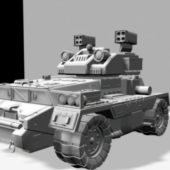Sci-fi Ground Combat Vehicle Design