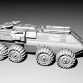 Futuristic Fighting Vehicle
