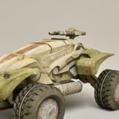 Military Vehicle Sci-fi Concept