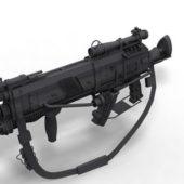 Futuristic Weapon Assault Rifle V1